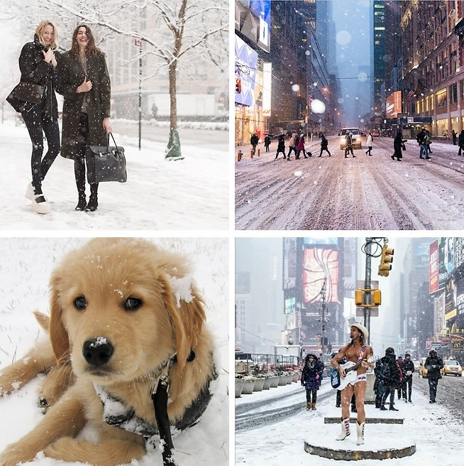 Snowmageddon 2015: The Best Instagrams Of Winter Storm Juno Hitting NYC