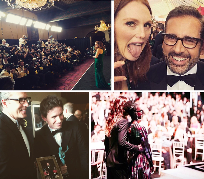 Instagram Round Up: Inside The 2015 SAG Awards
