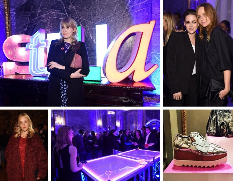Kristen Stewart & Chloe Sevigny Support Stella McCartney At Her Autumn 2015 Presentation