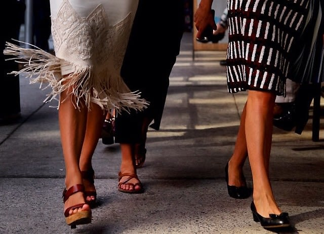 10 Fashion Week-Worthy Shoes You Can Actually Run Around In