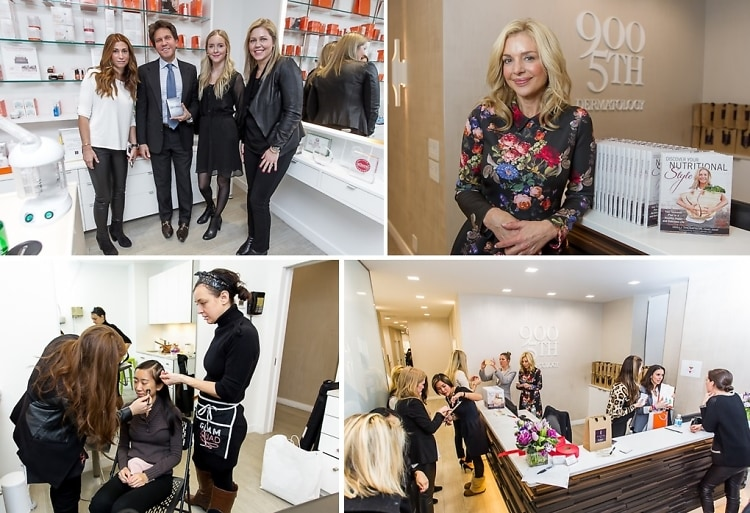 Charlotte's Book Founder Robin Shopin & Top Dermatologist Dennis Gross Kick Off 2015 With The Latest In Beauty