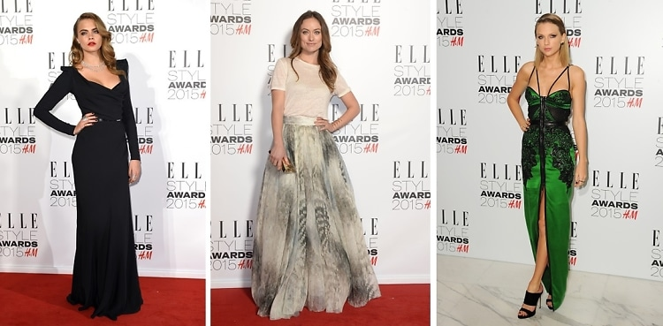Best Dressed Guests: Elle Style Awards 2015