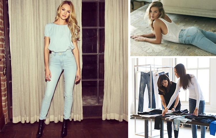 The New Supermodel x Denim Brand Collabs To Know Now