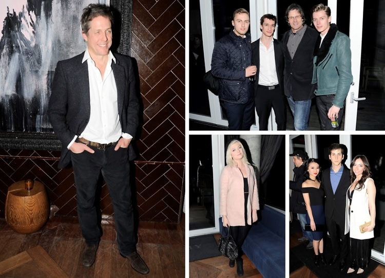 Hugh Grant Attends A Screening Of 'The Rewrite' Hosted By The Cinema Society & Brooks Brothers