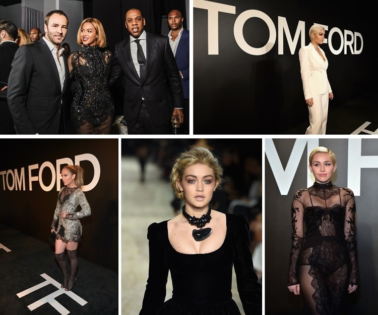 Stars Choose Tom Ford Over London Fashion Week Because Obviously
