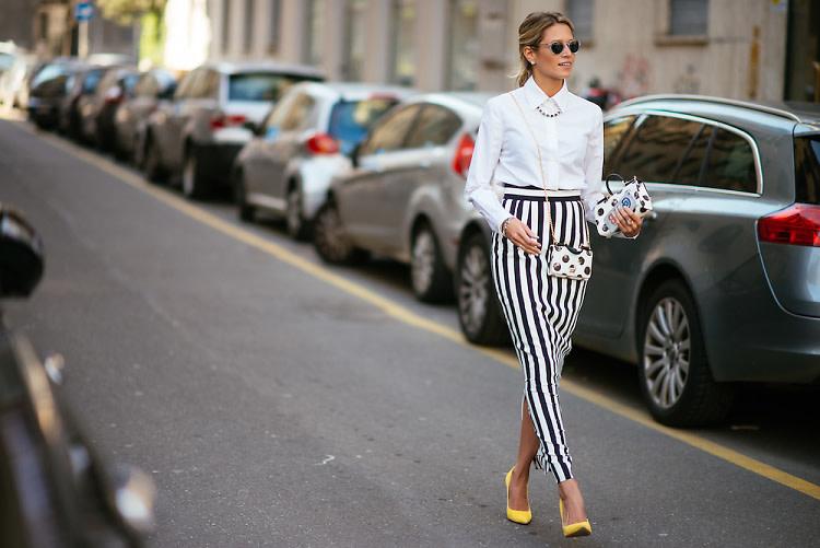 Milan Fashion Week Street Style: Part 3 With Giovanna Battaglia & Helena Bordon