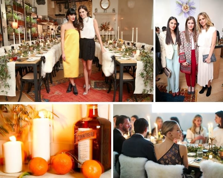 Athena Calderone & Meg Sharpe Host A Vogue x Cointreau Soiree
