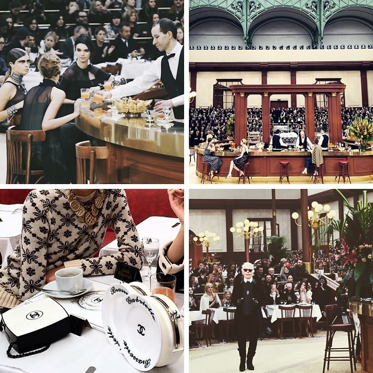 Instagram Round Up: Kendall Jenner & Cara Delevingne Join Chanel At Brasserie Gabrielle