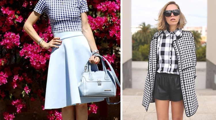 "5 Ways To Wear Gingham, Spring's New ""It"" Pattern"