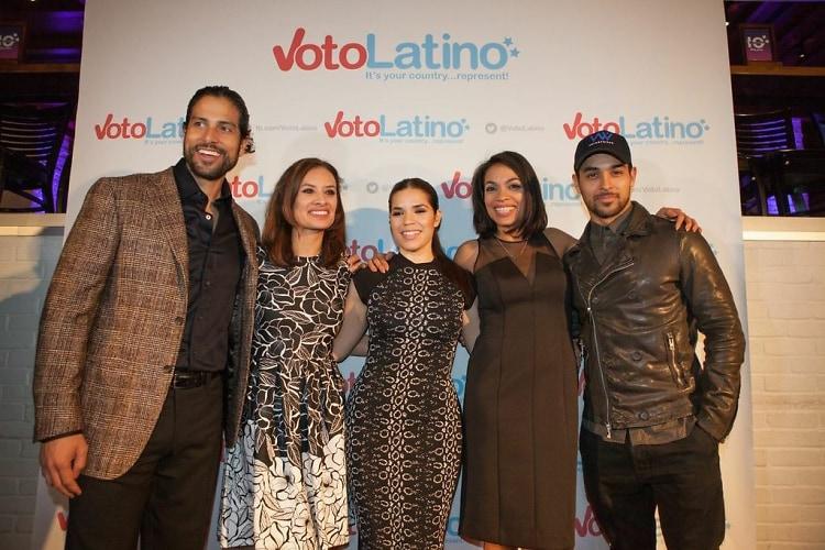 Rosario Dawson, Wilmer Valderrama, America Ferrera, Adam Rodriguez, Dania Ramirez,