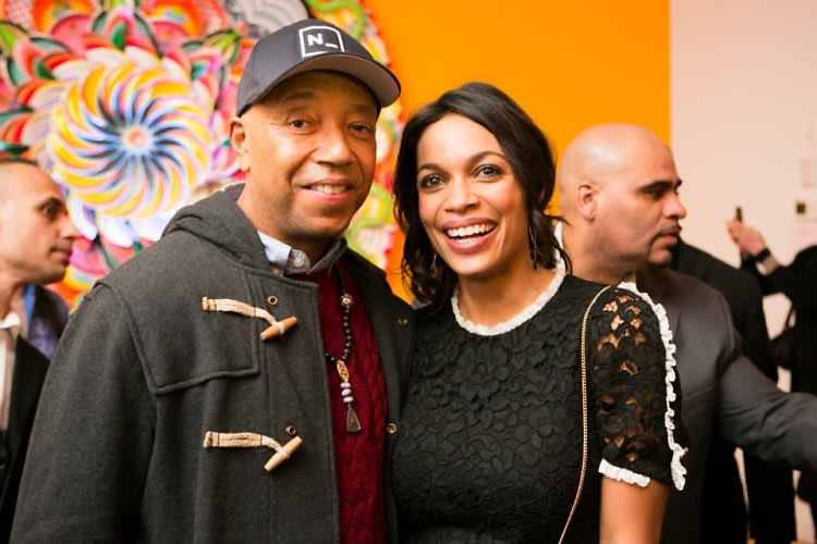 Russell Simmons, Rosario Dawson