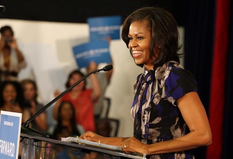 Michelle Obama Whitney
