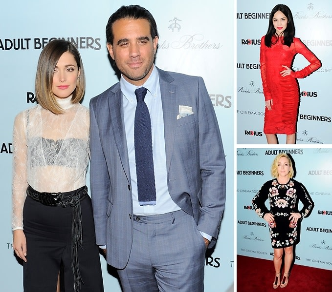 Best Dressed Guests: Our Top Looks From The 'Adult Beginners' Premiere