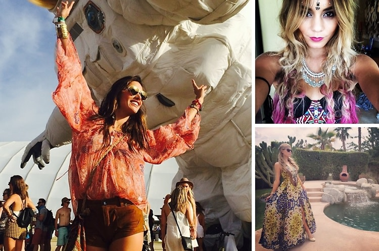 #FBF: The Best Celebrity Instagrams From Coachella 2014
