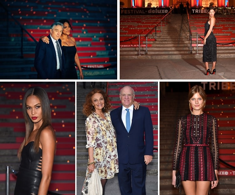 Joan Smalls Joins Robert De Niro & Vanity Fair In Kicking Off The 2015 Tribeca Film Festival
