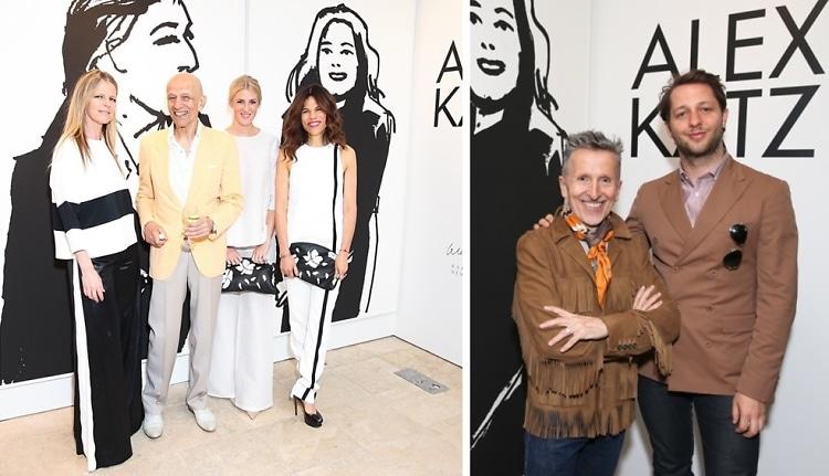 Barneys New York & Art Production Fund Honor Artist Alex Katz