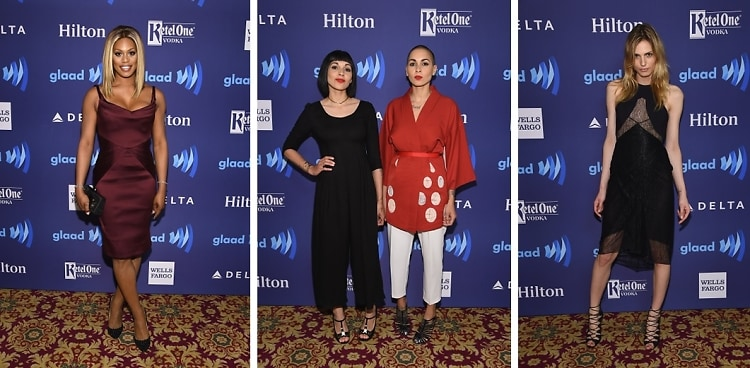 Best Dressed Guests: 2015 GLAAD Media Awards