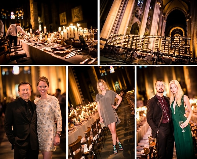 Inside The 2015 Creative Time Spring Gala At A Candlelit Cathedral
