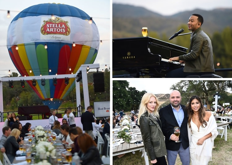 John Legend & Stella Artois 'Host Beautifully' With An Evening In The Clouds
