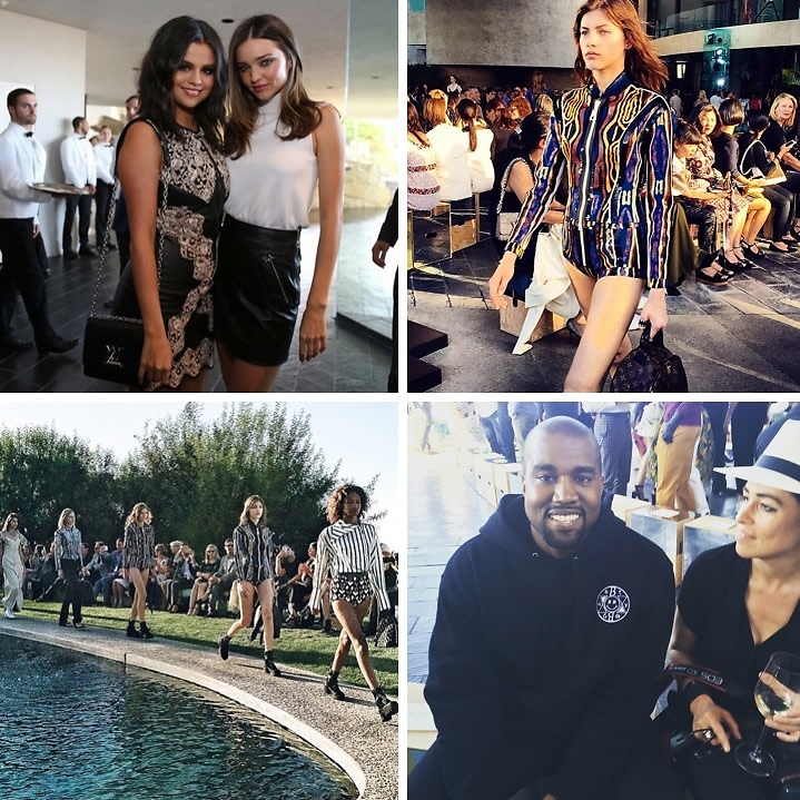 Louis Vuitton's Cruise Presentation In Palm Springs