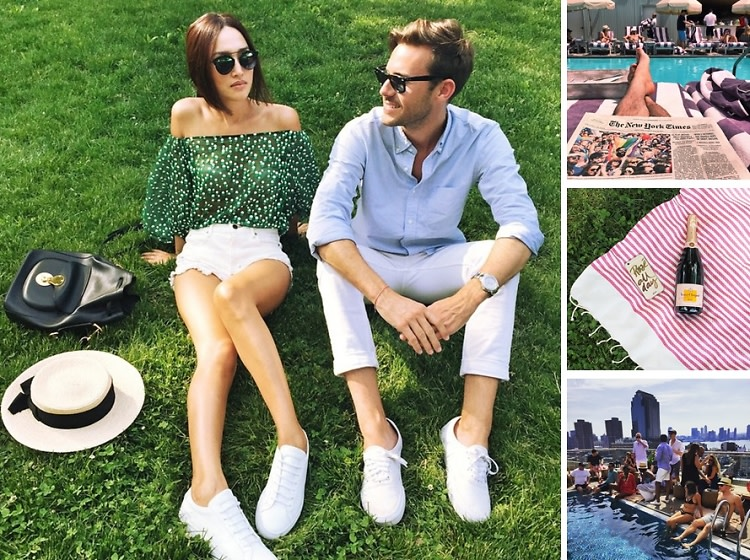 Instagram Round Up: New Yorkers Do Memorial Day Weekend 2015