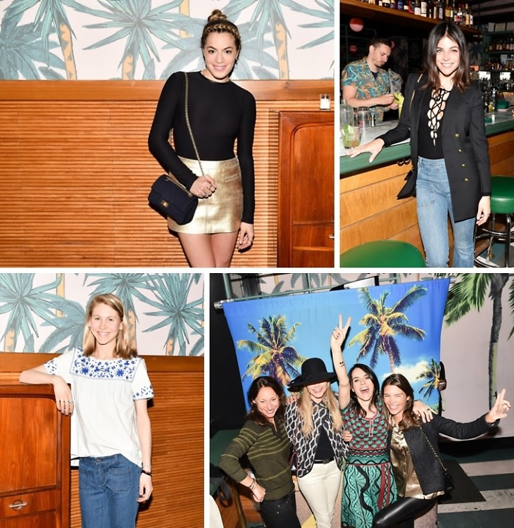 Chelsea Leyland & Bonpoint Celebrate The YAM Spring Summer 2015 Collection