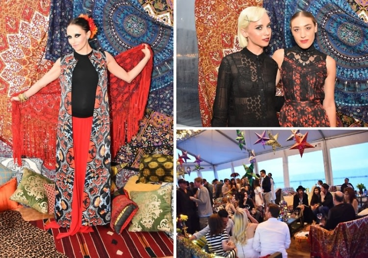 East Enders Celebrate 10 Years Of alice + olivia In Montauk
