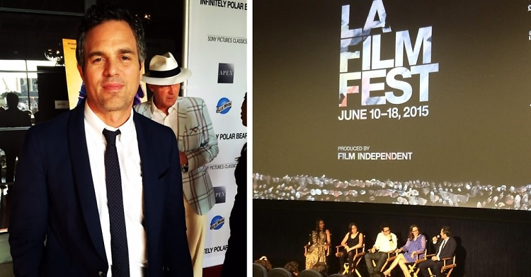 Mark Ruffalo Attends The Infinitely Polar Bear Screening At The Los Angeles Film Festival