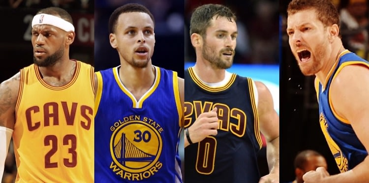 Cuties On The Court: Golden State Warriors Vs. Cleveland Cavaliers
