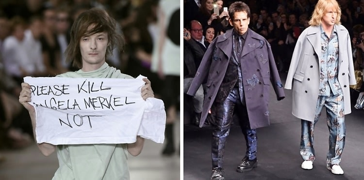 Rebellion At Rick Owens & More Memorable Moments On The Runway
