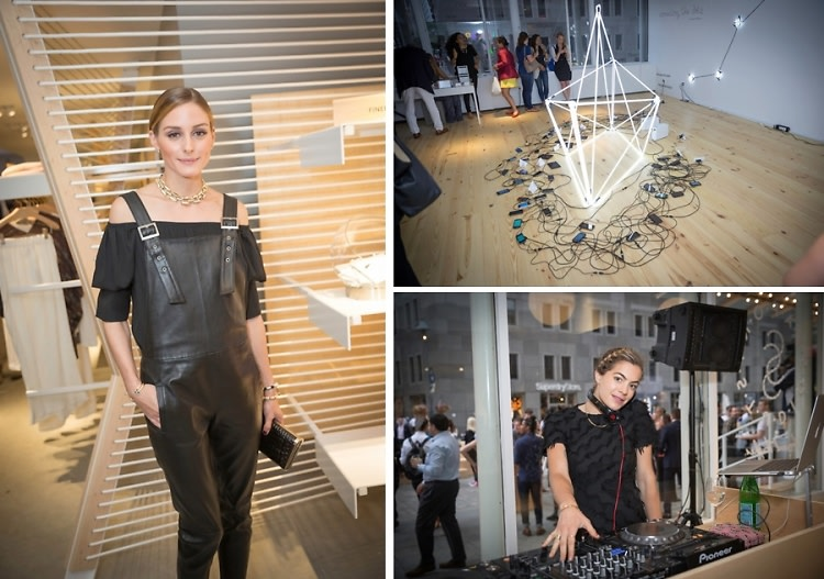 Olivia Palermo & Chelsea Leyland Kick Off The Opening Of Seaport Studios