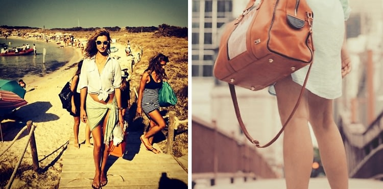 Lauren Remington Platt's Guide To Packing For A Summer Weekend Away