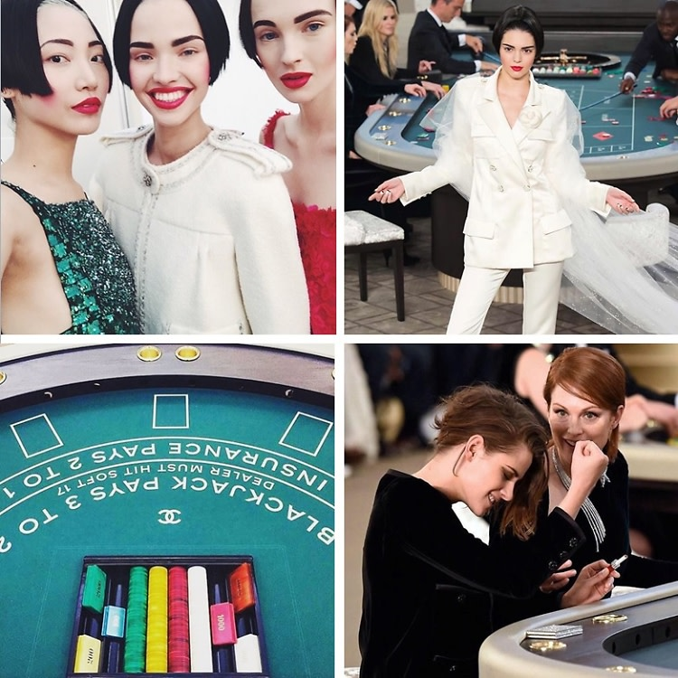 Instagram Round Up: Chanel's Couture Casino In Paris