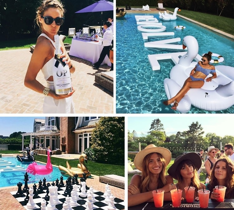 The Hampton's Weekend Party Guide
