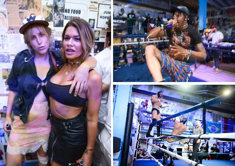 Travis Scott & Scout Willis Join MADE x The Eighth For Lucha Libre Wrestling