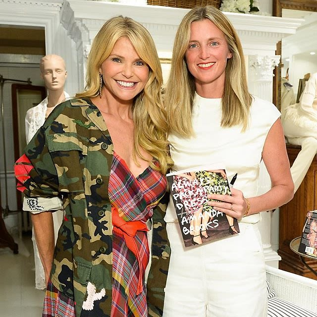 Last weekend 39 s hamptons parties a look at what you missed for Amanda brooks instagram