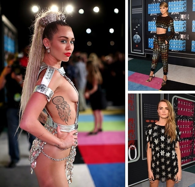 Best Dressed Guests: The Top Looks From The 2015 VMAs
