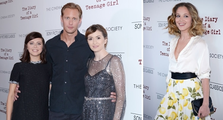 Bel Powley & Alexander Skarsgard Attend A Screening Of 'The Diary Of A Teenage Girl'