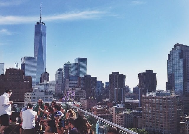 Your End-Of-Summer Guide To NYC's Best Rooftops