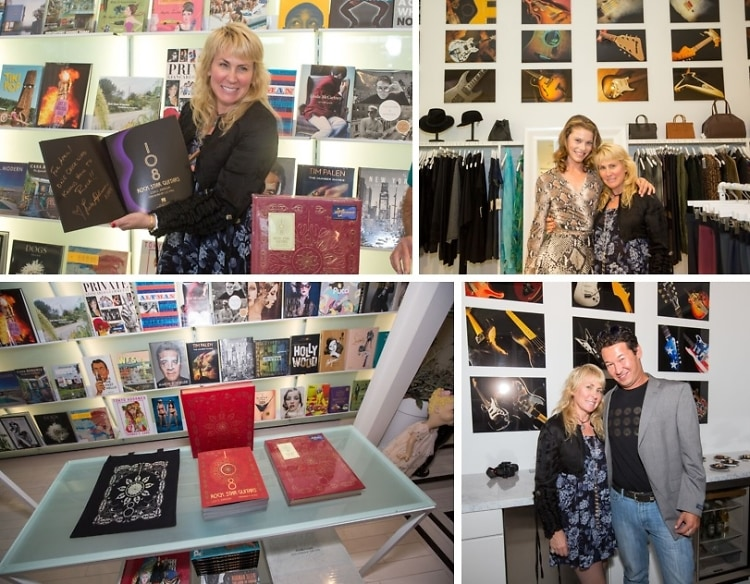 108 Rock Star Guitars Celebrates New Exhibit at RONROBINSON Ultimate Lifestyle Store