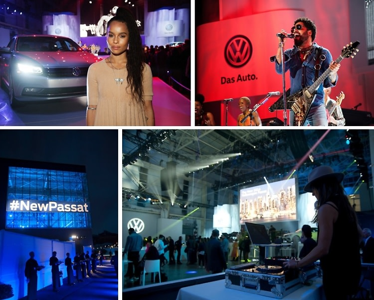 Inside The New 2016 Volkswagen Passat Reveal With Lenny Kravitz