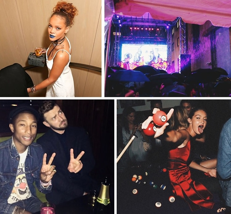Rihanna Parties With Justin Timberlake & The Weeknd At The New York EDITION