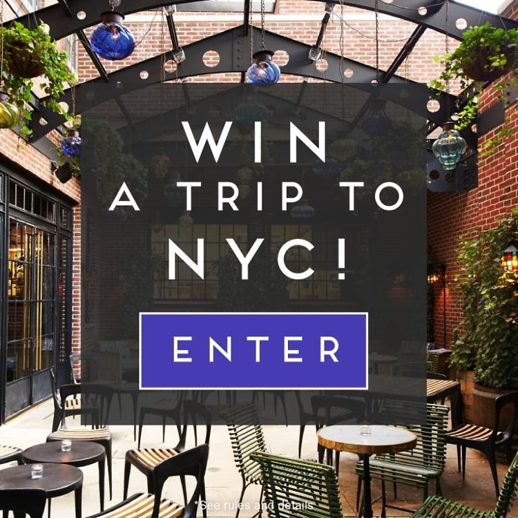 Win A Trip To NYC With Tasting Table!