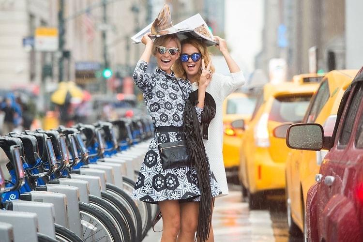 Fashion Week Street Style: Day 1 In The Rain