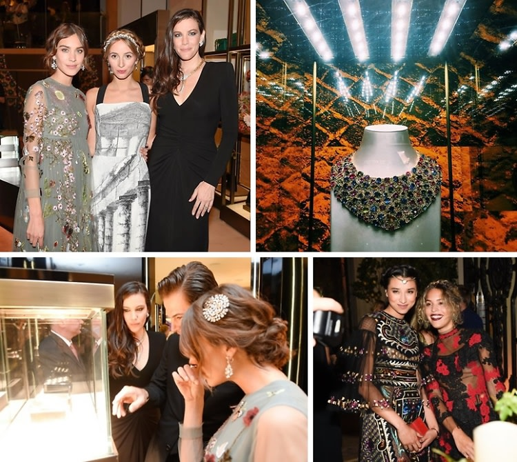 Liv Tyler & Bulgari Host A Night Of Roman Inspiration