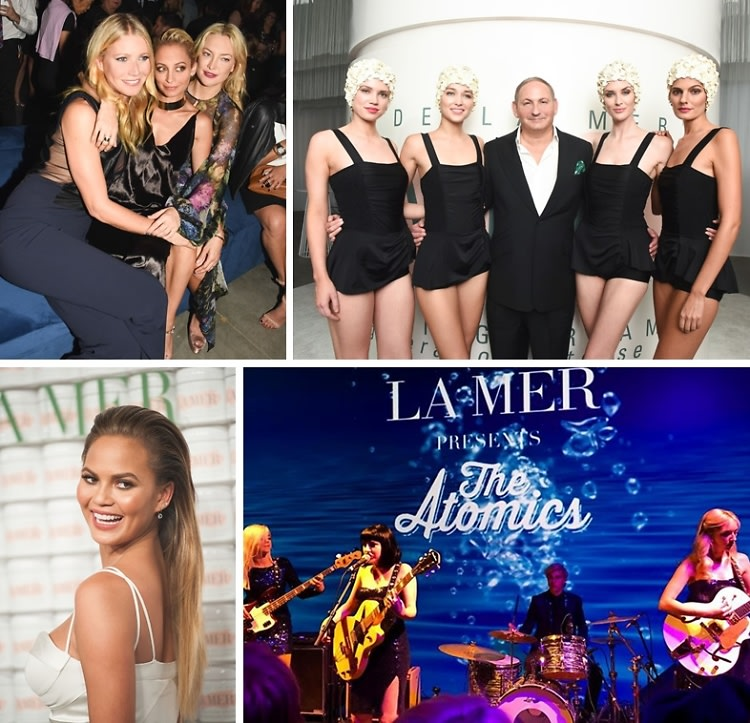 Gwyneth Paltrow & A Glowing Chrissy Teigen Toast To 50 Years Of La Mer
