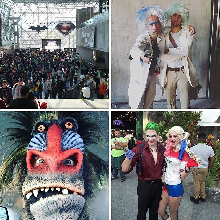 Instagram Round Up: New York Comic Con 2015