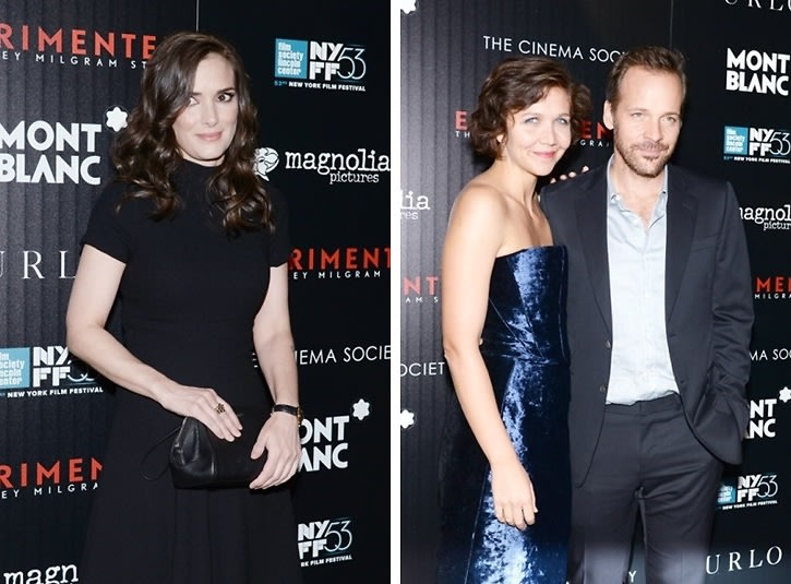Winona Ryder Is A Total Babe At The NYFF Premiere Of The 'Experimenter'
