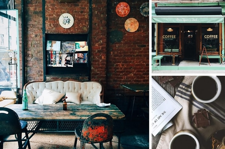 I Bought A Coffee, I Live Here Now: NYC Cafes To Settle Down In