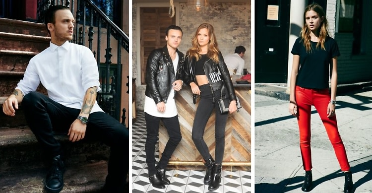 Denim Duo: Josephine Skriver & Alex DeLeon Star In DL1961's Fall Campaign